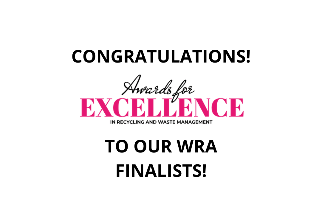 Three WRA members announced as finalists in Awards for Excellence