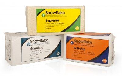 Plevin's Snowflake Equine Bedding Doubles Capacity